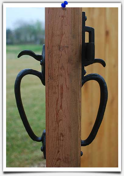 thumblatch for wood gates