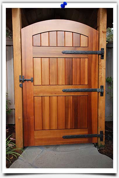 wood gate hardware